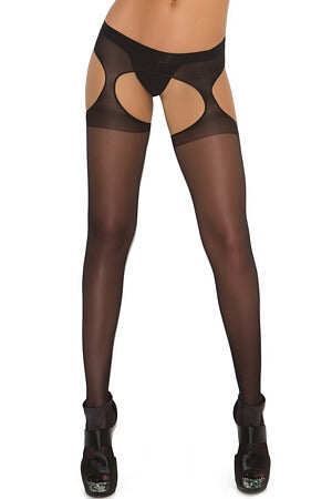 Sexy Sheer Suspender Pantyhose