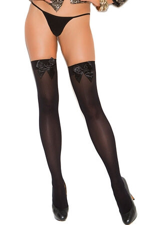 Spicy Opaque Thigh High Diva Stockings