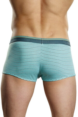 Mint Heather Stripe Short