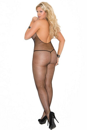 Diva Sleek Sheer Fishnet Body Stocking