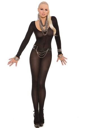 Sleek Opaque Body Stocking