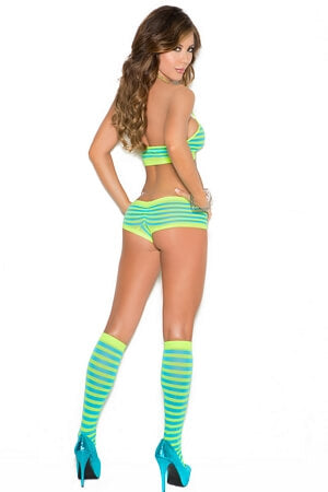 Naughty Neon Cami Set