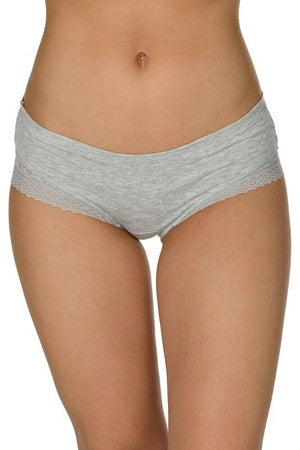 Heather Grey Hipster Panty