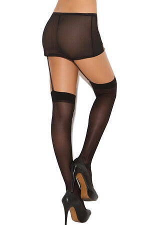 Simple & Sexy Sheer Diva Thigh High