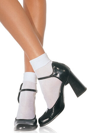 Nylon Anklet Socks