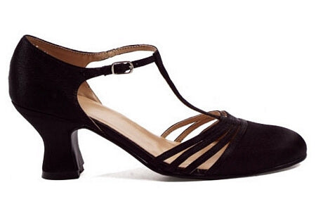 2.5 inch Satin Dance Shoe