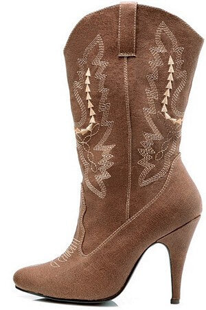 4 inch Heel Cowgirl Boots