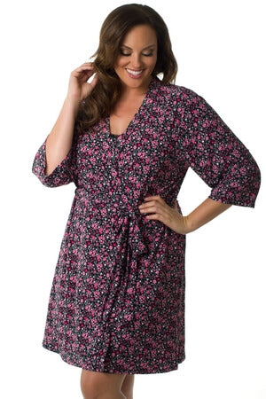 Plus Love Garden Robe