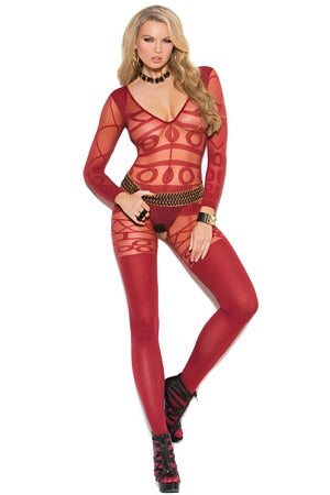 Geo Crazy Bodystocking