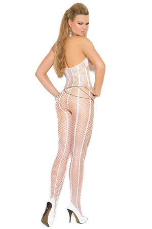 Pure Perfection Crotchless Bodystocking - LingerieDiva