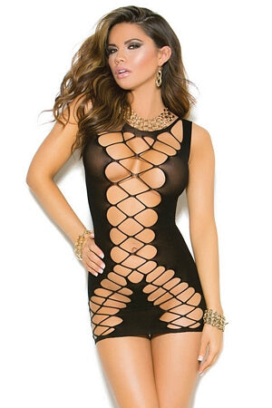 Cross Your Mind Mini Dress
