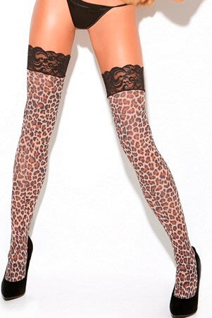 Leopard Thigh Highs
