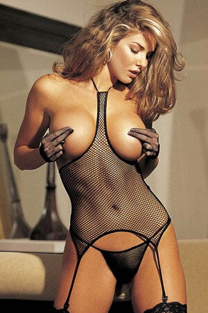 Explicit Expressions Fishnet Bustier
