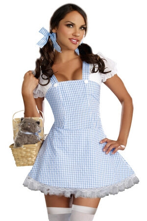 Gingham Starter Costume Dress