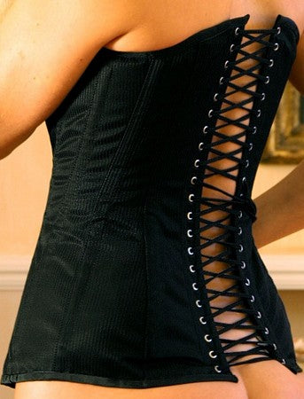 Traditional Long Style Coutil Corset