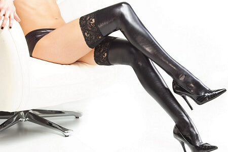 Diva Slick Lace Stockings
