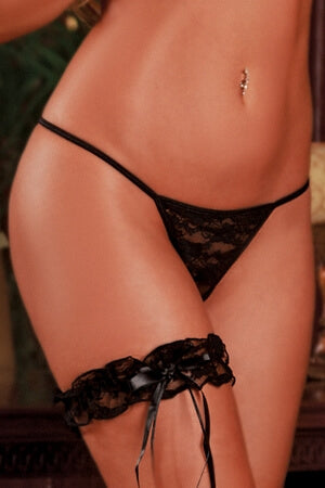 Black Essential G-String