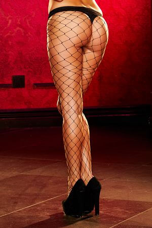 Classic Fishnet Thigh Highs