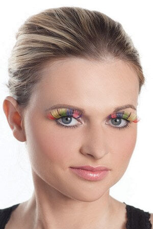 Rainbow Eyelash Set