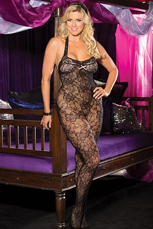 Queen Floral Fun Bodystocking
