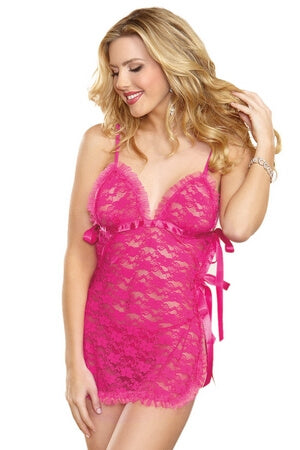 A Touch Of Pink Toga Chemise
