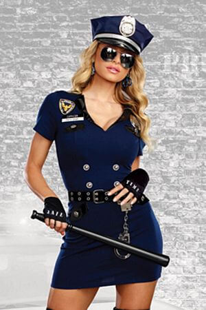 Officer Pat U Down Costume
