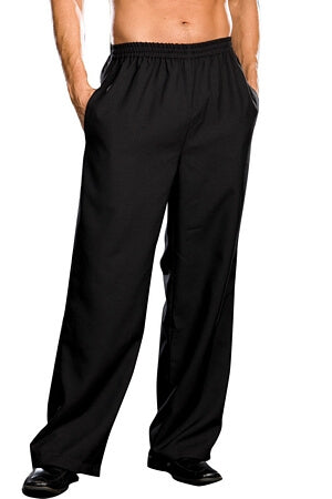 Mens Black Costume Pant