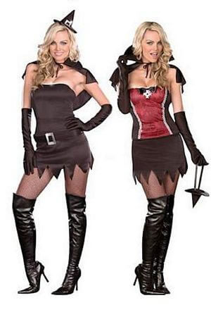 Witch/Vampire Quick Change Costume