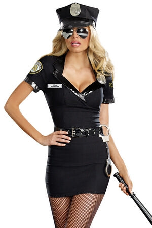 Dirty Lady Cop Costume