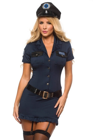 5 Pc Sexy Police Officer Costume ...  sc 1 st  Lingerie Diva & Sexy Police Costumes Adult Cop Halloween Costumes u2013 LingerieDiva