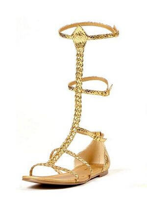 High Gladiator Flat Sandal