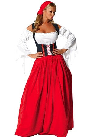 Miss Swiss Costume