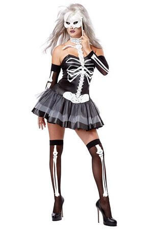 Skeleton Sweetie Costume