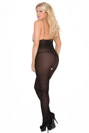 Diva Sensual Opaque Body Stocking