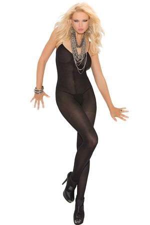 Sensual Opaque Body Stocking