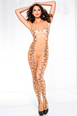 Through The Vine Crotchless Bodystocking