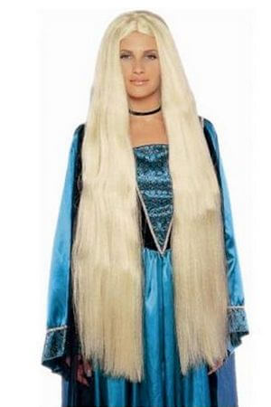38 Inch Super Long Blond Wig