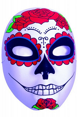 Sinister Smile Sugar Skull Mask