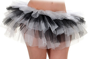 White And Black Tutu