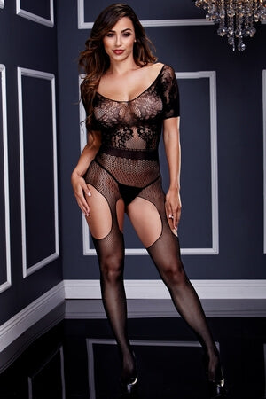 Haute Flame Bodystocking