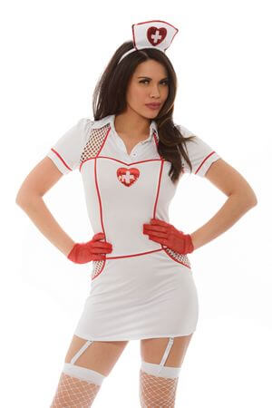 Hospital Hottie Costume - LingerieDiva