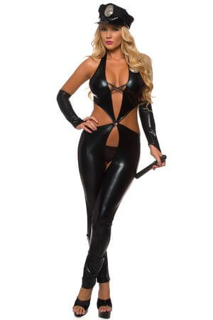 Mrs. Officer Costume ...  sc 1 st  Lingerie Diva : lady police costume  - Germanpascual.Com