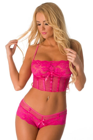 Pink Simply Sweet Cami Set