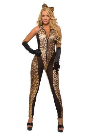 Queen Of The Jungle Catsuit