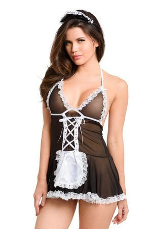 Maid For You Costume - LingerieDiva