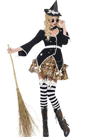 Sultry Steam Punk Witch Costume
