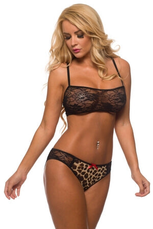 Way To His Heart Bra Set