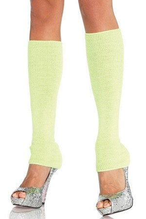 Romantically Ribbed Leg Warmers