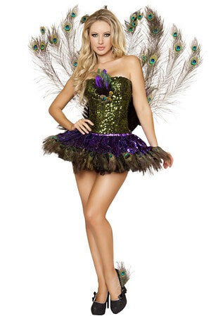 Tempting Peacock Costume