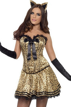 Lavish Leo Kitty Costume